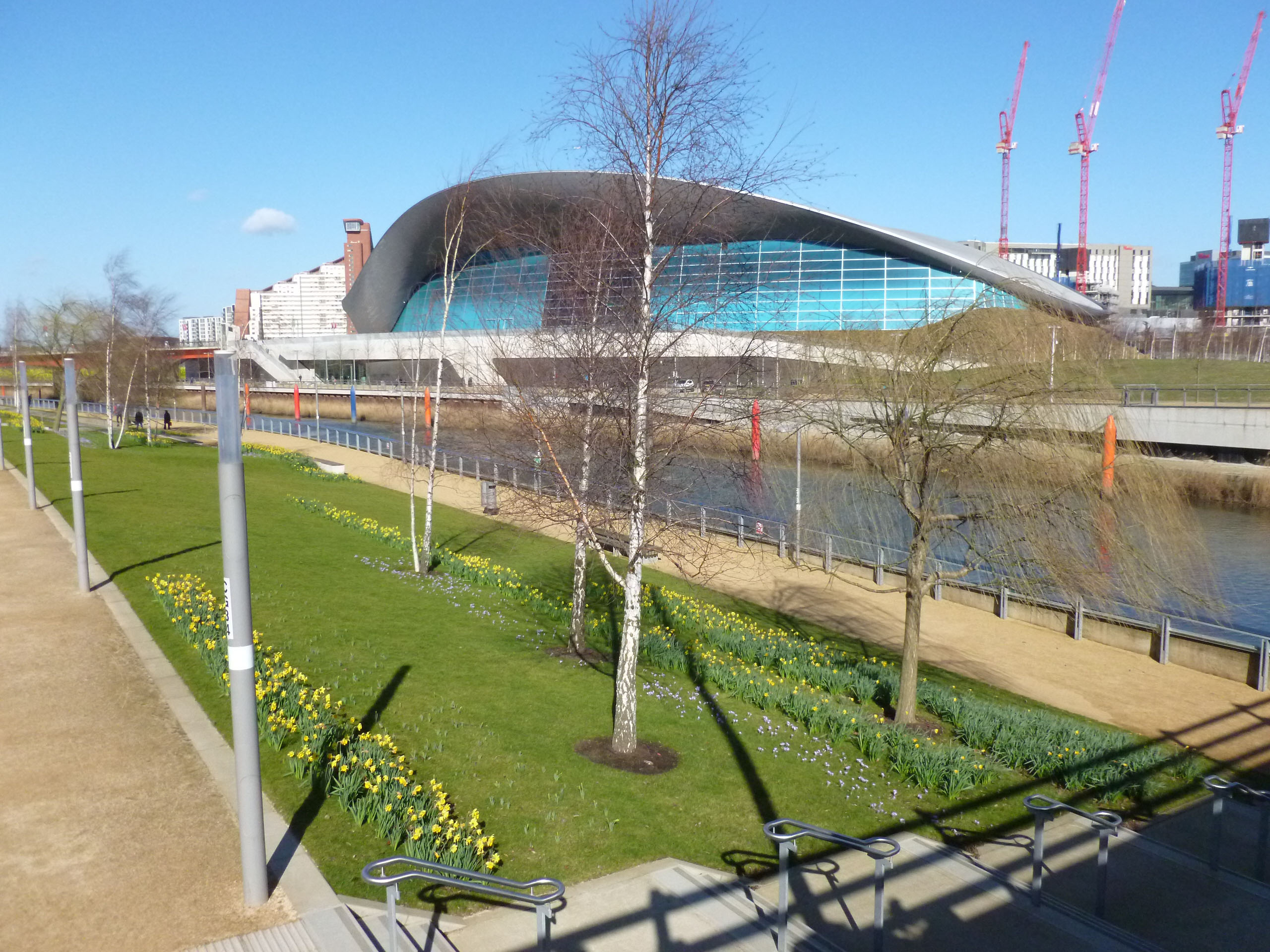 Rides For Explorers The Queen Elizabeth Olympic Park Richmond Cycling Campaign