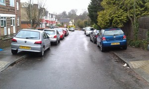 cars parked on street londonneur