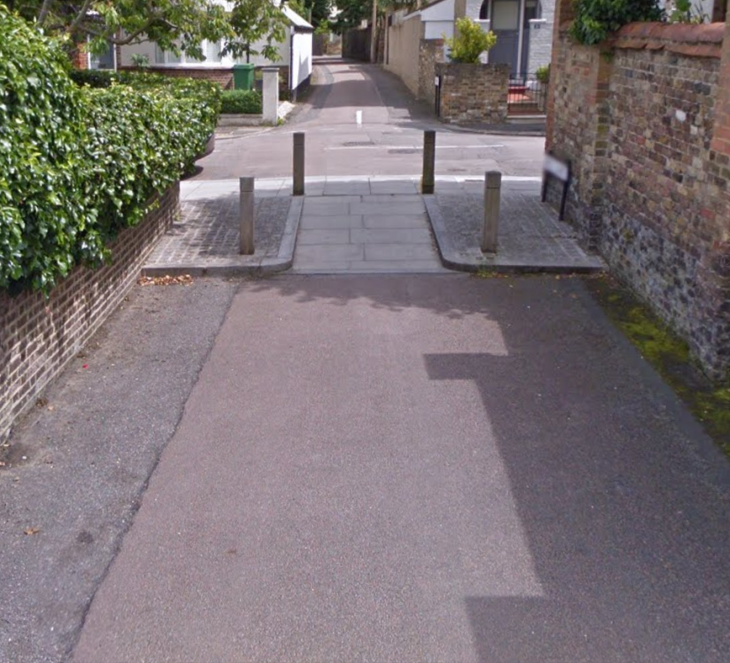 Filtered permeability at Well Lane / Martindale junction